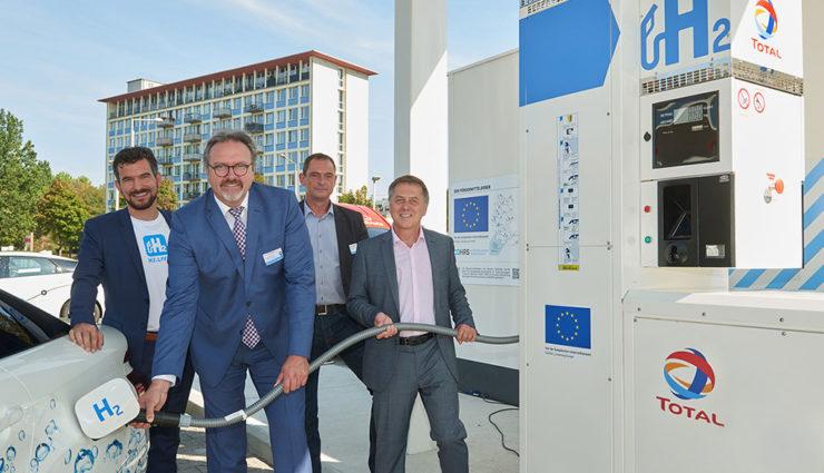 Dresden erhält Sachsens erste Tankstelle für Wasserstoff-Elektroautos