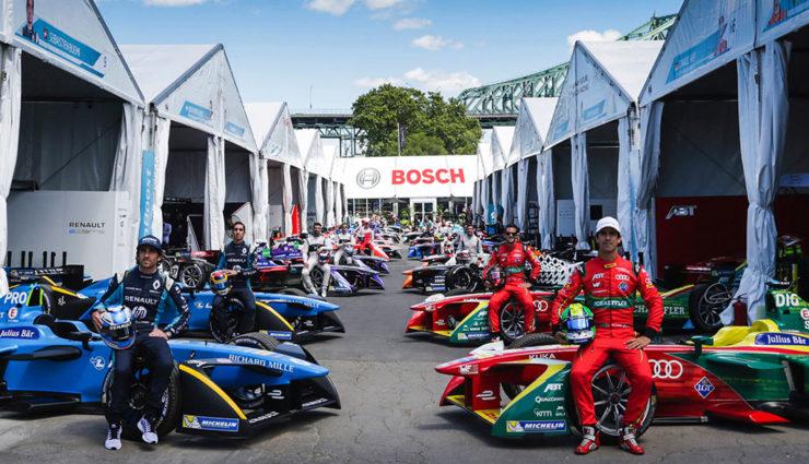 Bosch wird offizieller Partner der Formel E