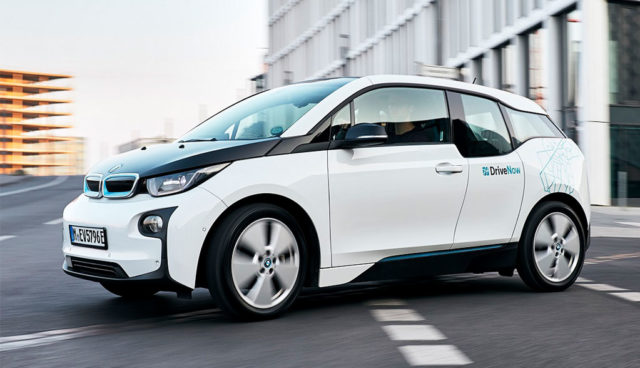 DriveNow-Elektroauto