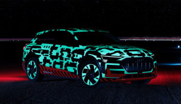 Elektroauto-Energie-Karosserie