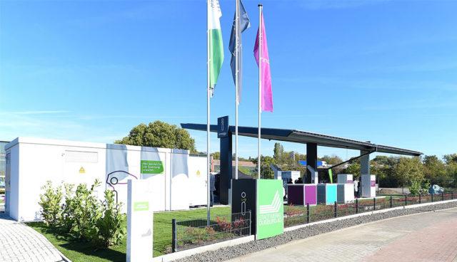 Duisburg: Innogy eröffnet ersten Elektroauto-Schnellladepark in der Stadt