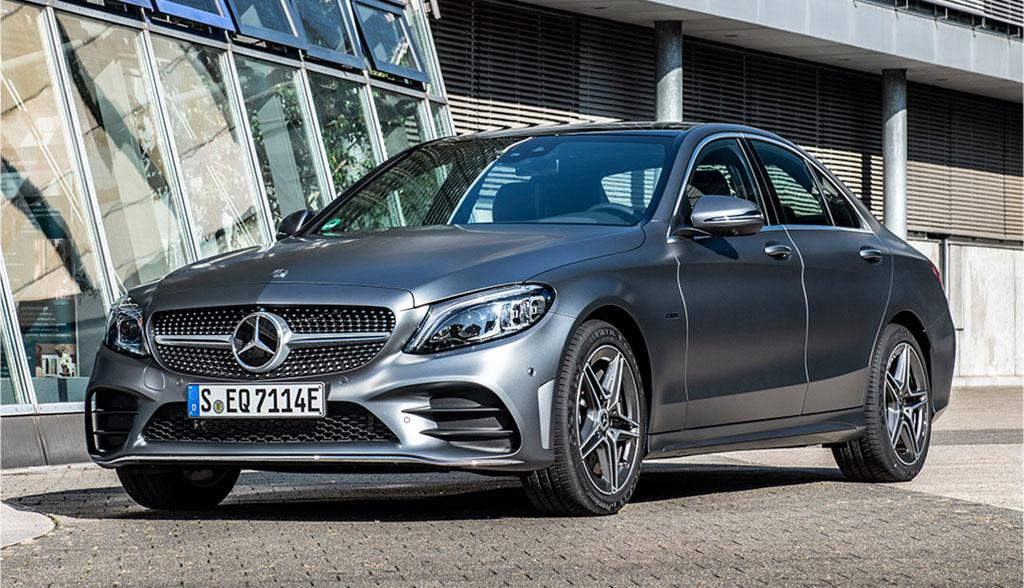 Neue Mercedes Plug-in-C-Klasse fährt bis zu 57 km ...