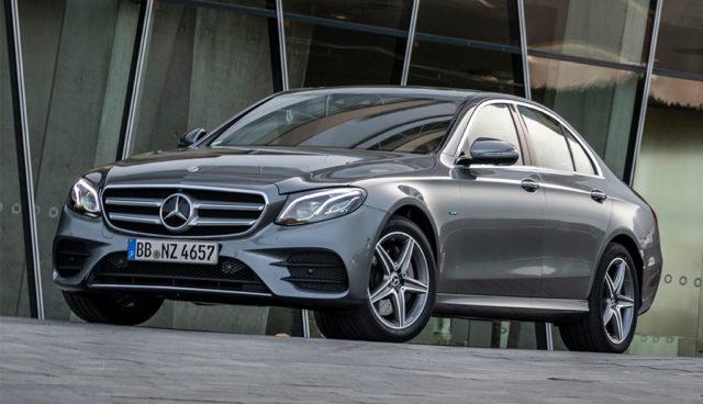 Mercedes-Benz E 300 e und E 300 de: Bis zu 54 Kilometer rein elektrisch fahren