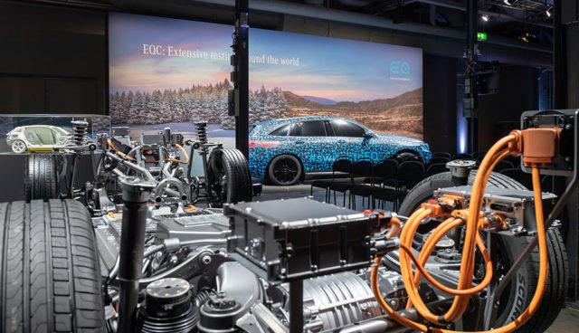 So organisiert Mercedes seine Elektroauto- und Batterie-Produktion