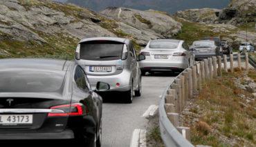 Norwegen-Elektroauto