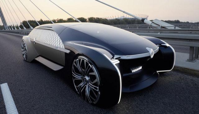 Renault zeigt autonomes, vollelektrisches Luxus-Shuttle EZ-ULTIMO