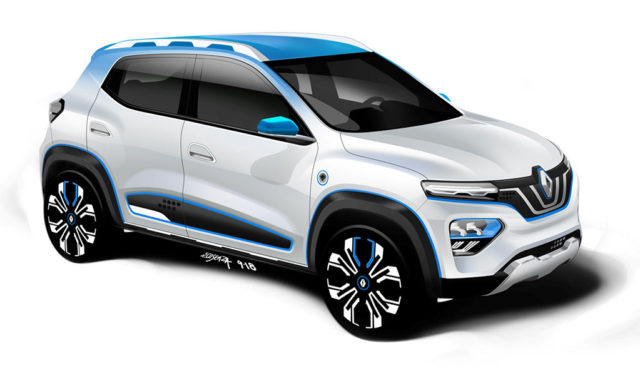 Renault kündigt Elektroauto-SUV K-ZE und neue Hybride an