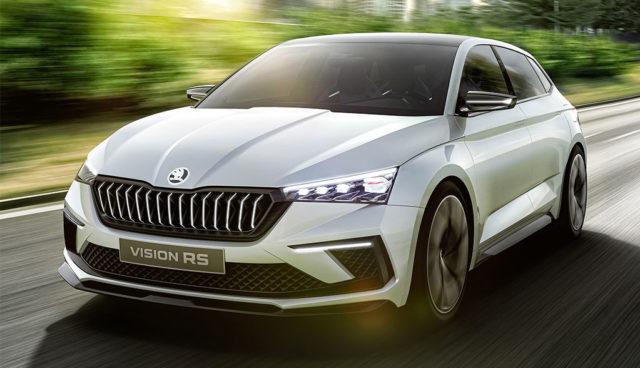 Vision RS: Škoda zeigt Plug-in-Sportler mit 70 km E-Reichweite