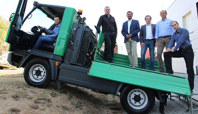 TH Mittelhessen entwickelt elektrisches Nutzfahrzeug für Kommunen