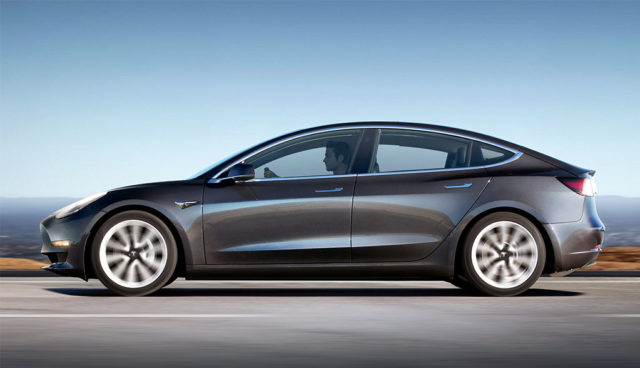 Tesla Model 3 nimmt Limousinen-Segment in den USA ins Visier