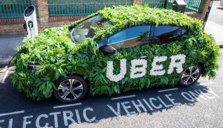 Uber-Elektroauto-London