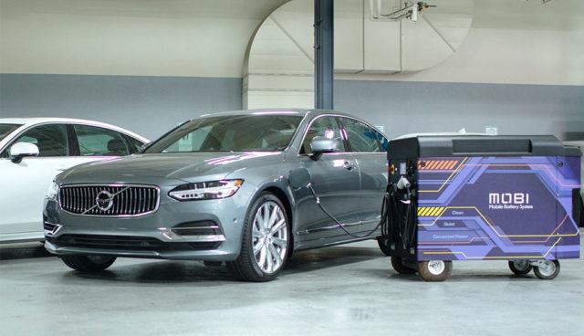 Volvo-FreeWire-Elektroauto-Schnellladen