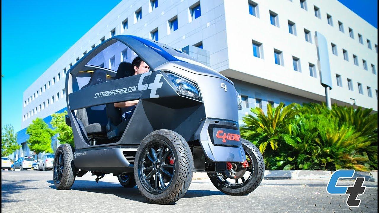 Israelisches Startup entwickelt faltbares Elektroauto