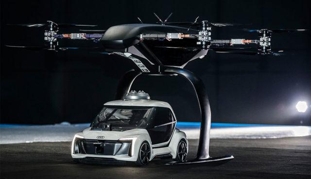 """""""Pop.Up Next"""": Modulares Elektro-Konzept von Audi, Airbus und Italdesign fliegt und fährt"""