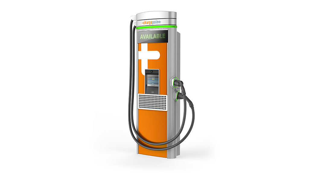 ChargePoint-Elektroauto-Ladestation