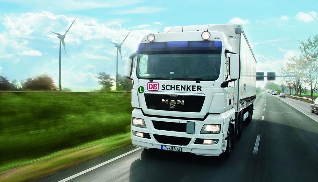 DB-Schenker-Elektro-Lkw