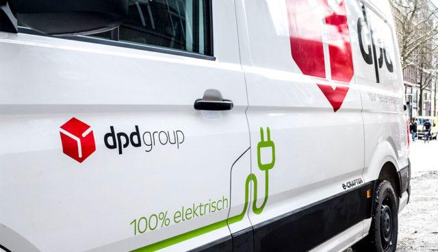 DPD liefert in der Hamburger Innenstadt zukünftig exklusiv mit Elektrofahrzeugen