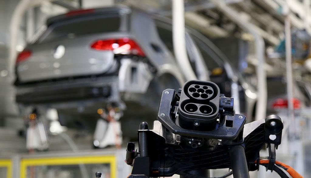 Elektroauto-Produktion