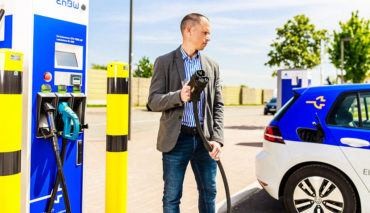 EnBW-Elektroauto-Ladestation