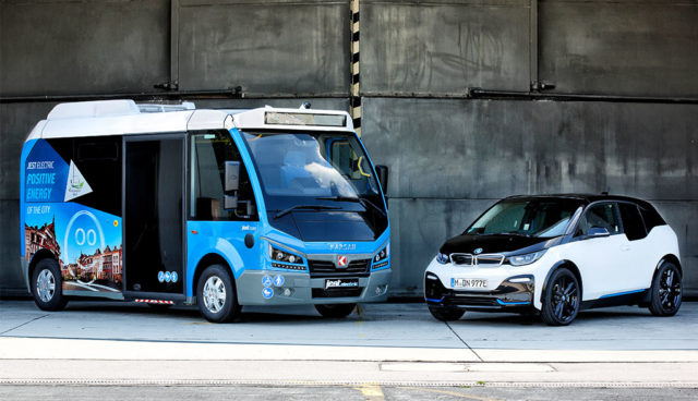 BMW liefert Batterien und Motoren für türkischen Elektro-Bus Karsan Jest Electric