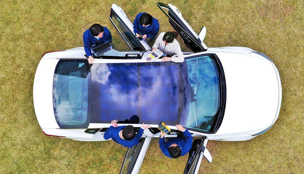 Kia-Hyundai-Elektroauto-Solardach