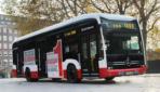 Hamburg flottet ersten Elektrobus von Mercedes-Benz ein