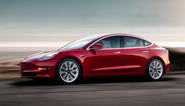 USA: Tesla Model 3 boomt, deutsche Mittelklassewagen lassen Federn
