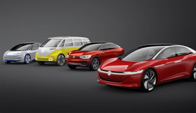 """Volkswagen-Chef: """"Wir haben uns Batterien für 50 Millionen Elektroautos gesichert"""""""