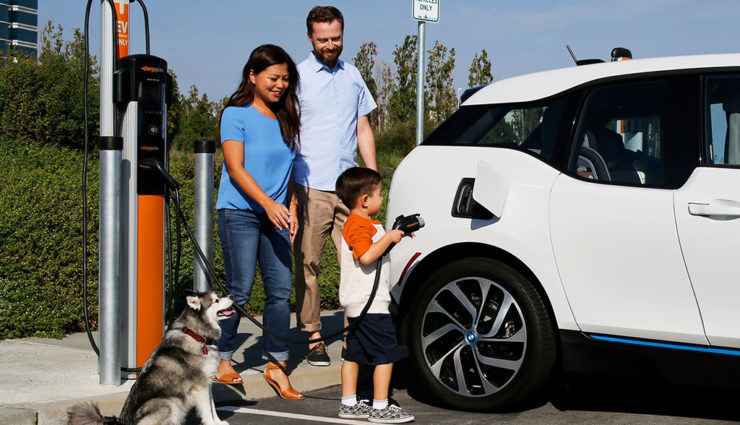 ChargePoint-Ladestation