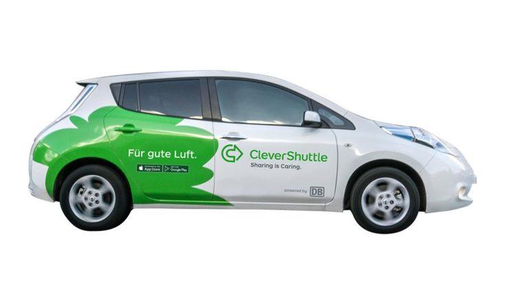 Elektroauto-Carsharer CleverShuttle startet in Dresden