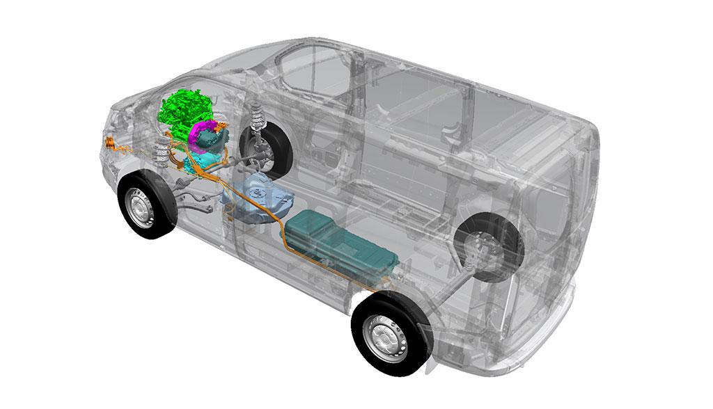 Ford-Transit-Plug-in-Hybrid-Technik
