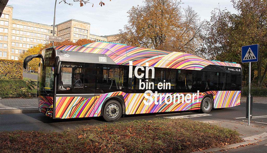 Frankfurt-Elektrobus