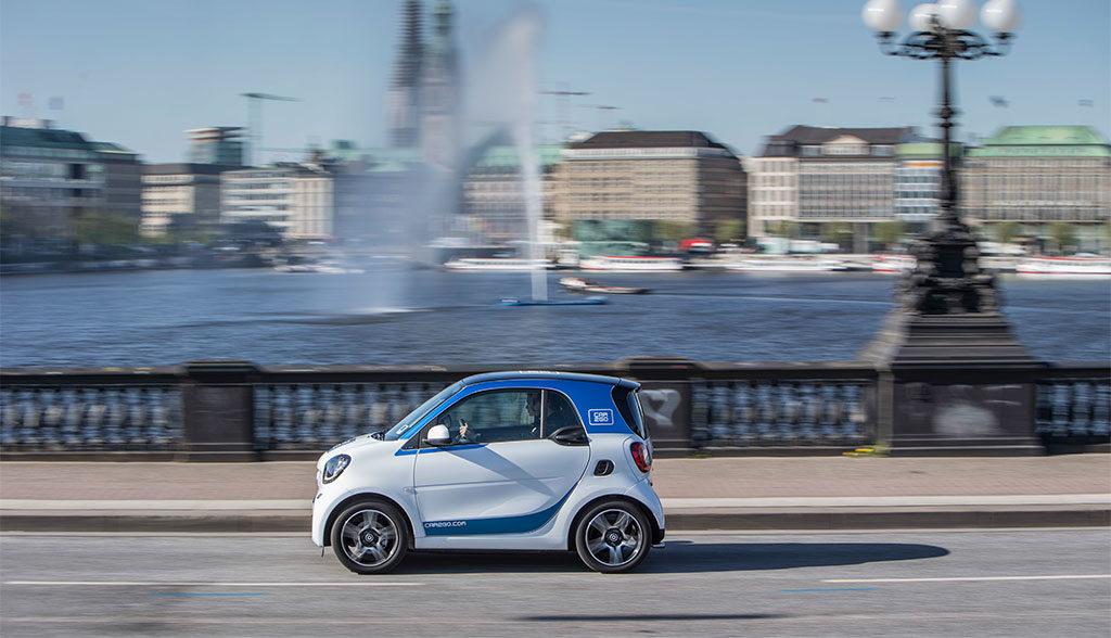 Hamburg-Elektroauto