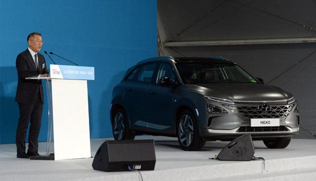 Hyundai investiert Milliarden in Wasserstoff-Elektromobilität