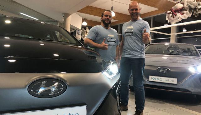 Landsberger Autohaus verkauft 20 Prozent aller Hyundai Ioniq Elektro in Deutschland