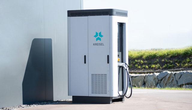 Kreisel Electric baut jetzt auch Elektroauto-Schnellladestationen