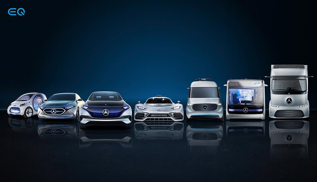 Mercedes-Elektroautos