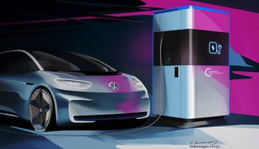 VW-Elektroauto-Powerbank