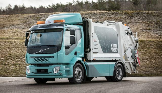Volvo-Elektro-Muelllaster