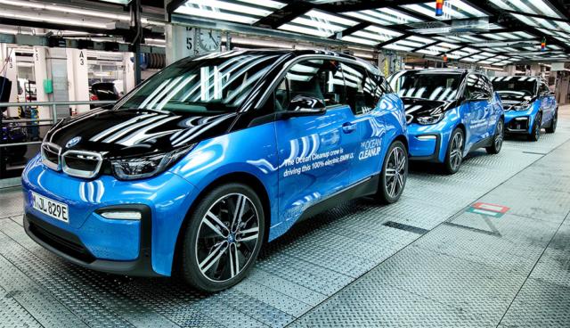 BMW-Konzern liefert 2018 über 140.000 Stromer aus