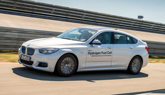BMW-Wasserstoff-Elektroauto