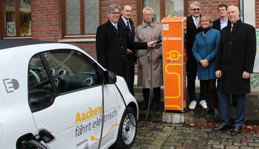 Elektroauto-Ladestation-Aachen
