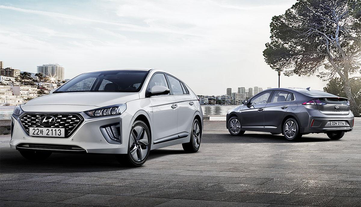Hyundai überarbeitet Stromer-Trio Ioniq