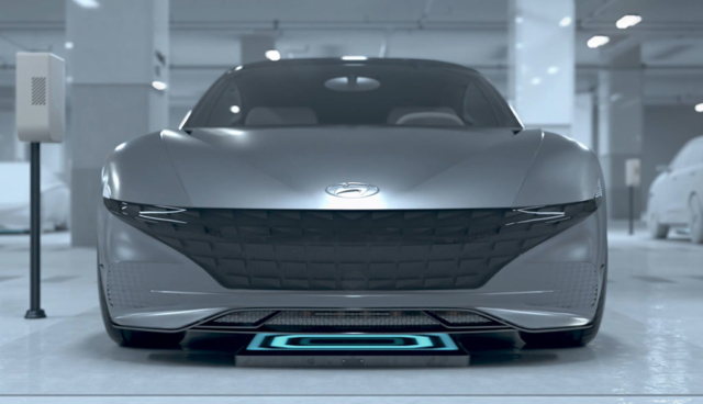 Hyundai und Kia zeigen kabelloses, automatisiertes Elektroauto-Ladesystem