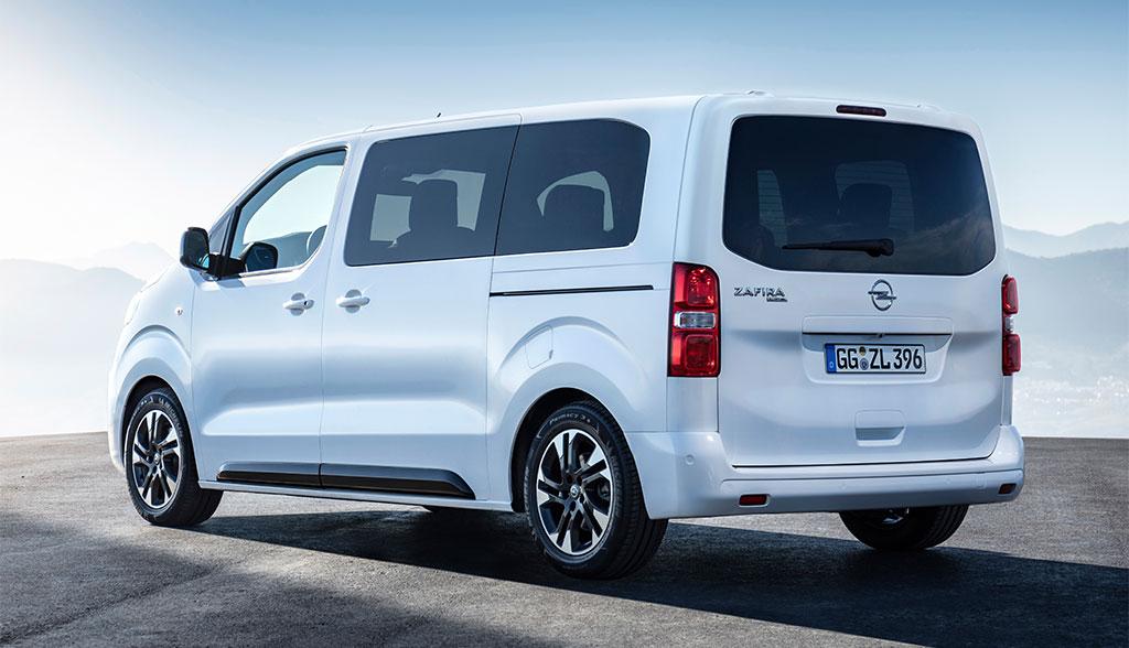 Opel Zafira Life später auch rein elektrisch unterwegs ...