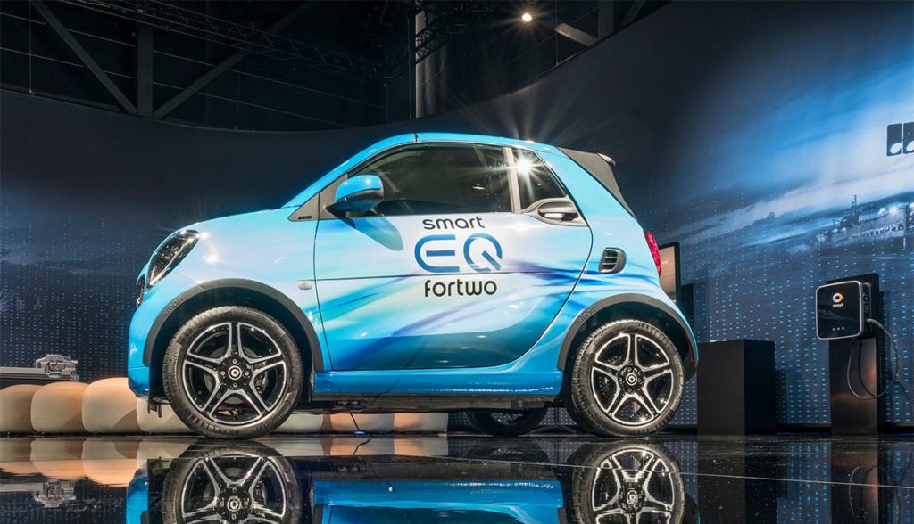 Smart stellt Mitte des Jahres komplett auf Elektroautos um