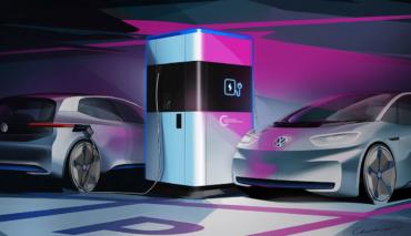 VW-mobile-Elektroauto-Ladestation