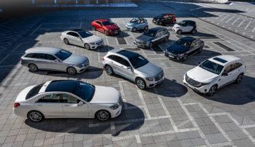 Daimler-Elektro-Modelle
