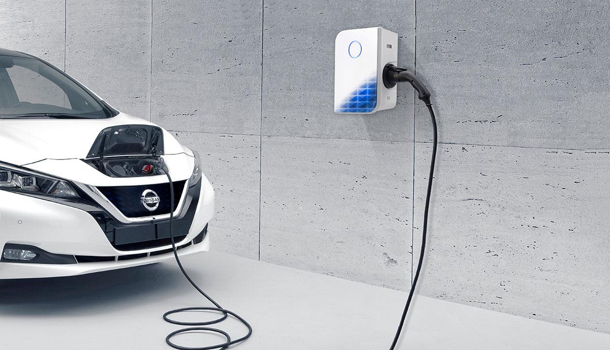 Elektroauto-Ladestation