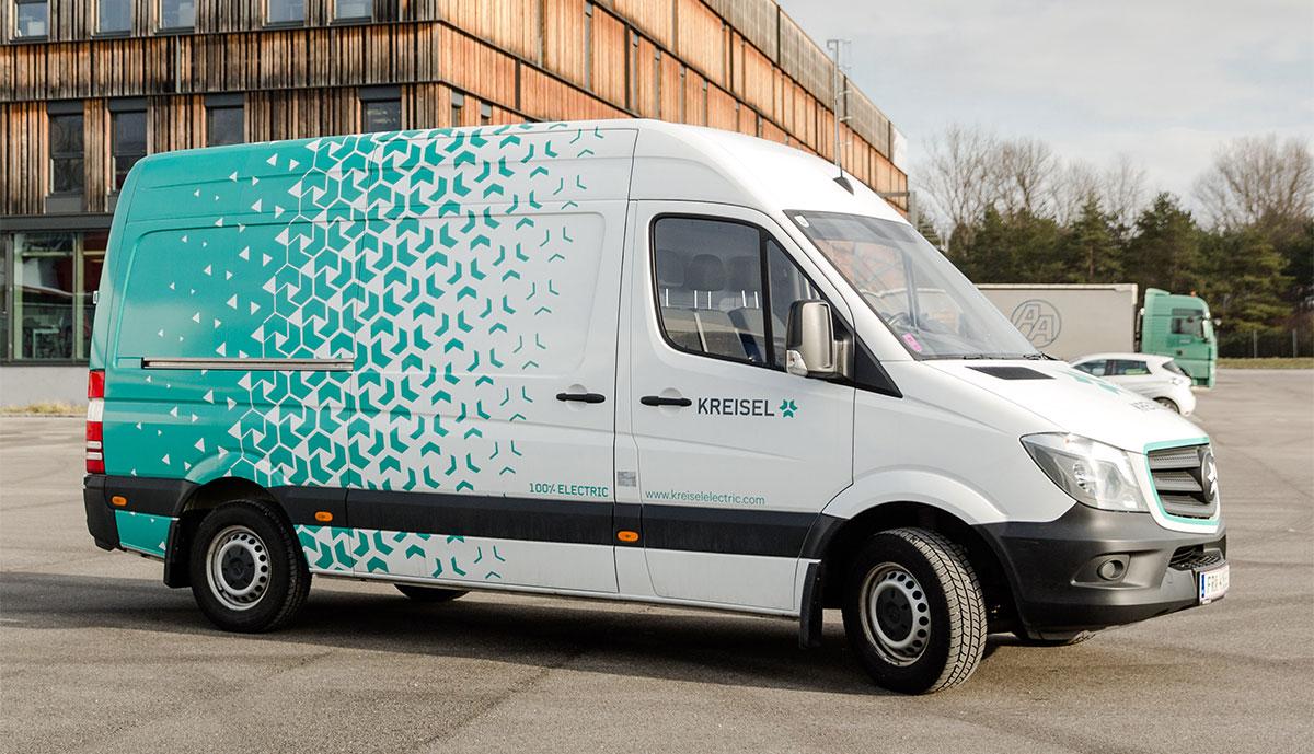 Kreisel-Elektro-Transporter-Van